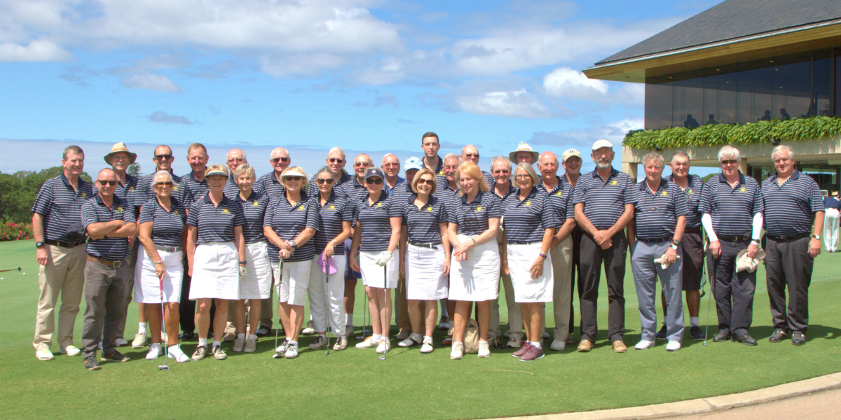 Bowral GC Whales Tooth Trophy Team