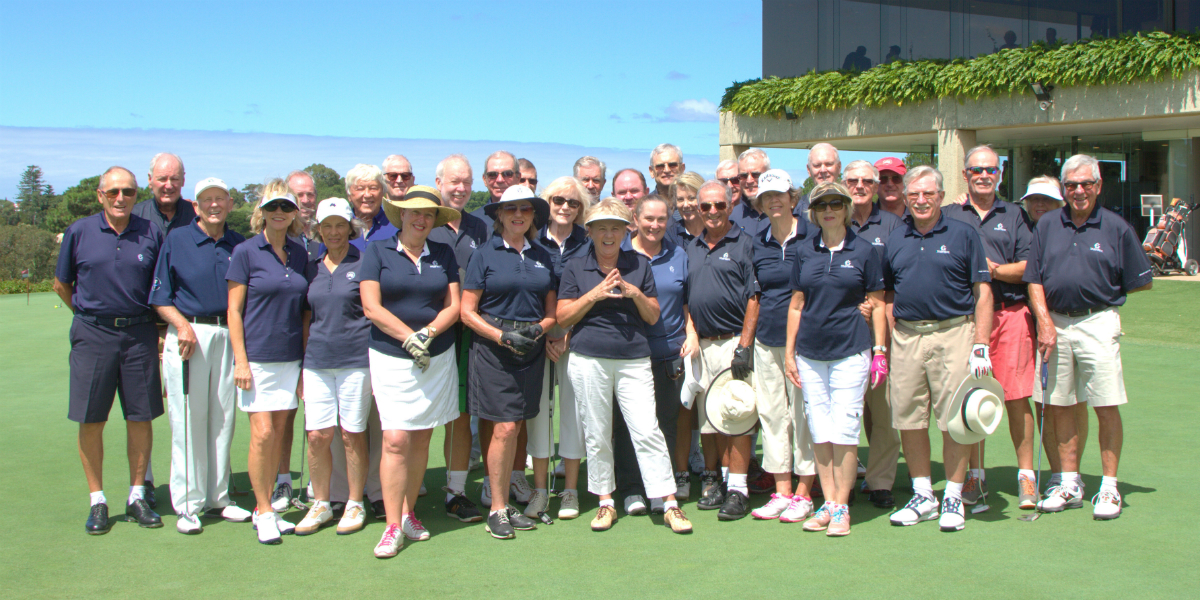 The Australian GC Whales Tooth Trophy Team