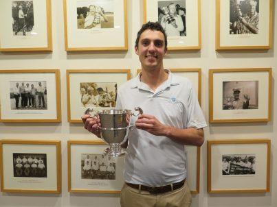 Harry Cook - Hampden Cup Champion